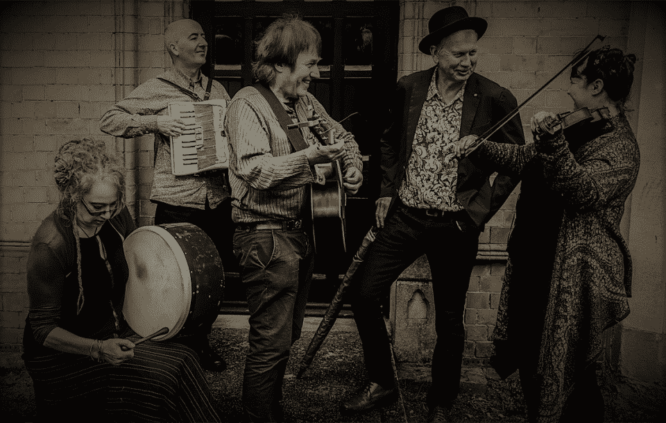 wedding band specialising in traditional music west midlands uk - the burdock band 960
